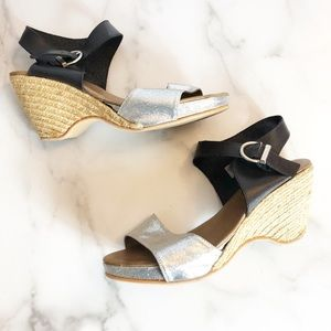 Eric Michael made in Spain espadrille wedge Sz 12